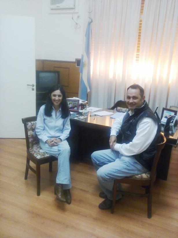 Alvear: reunión del intendente con su par de 25 de Mayo