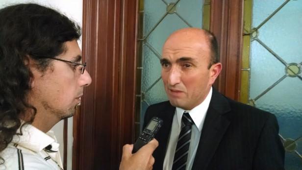 """Eduardo Rodríguez: """"José Eseverri no deja de mirar hacia adelante y continúa proyectando la Olavarría del futuro"""""""