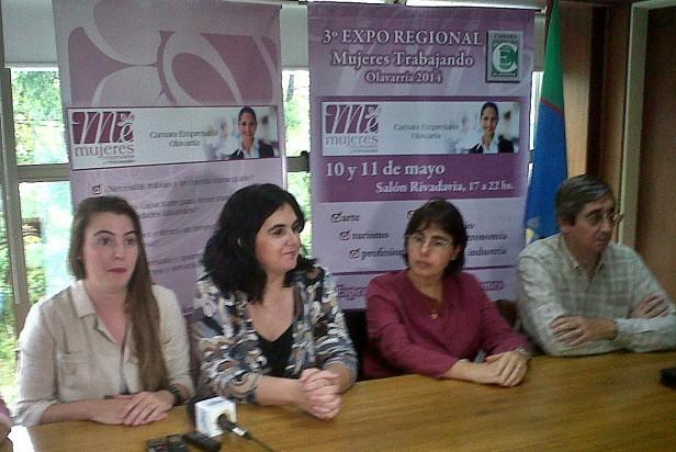 """Lanzaron la Expo Regional """"Mujeres empresarias"""""""