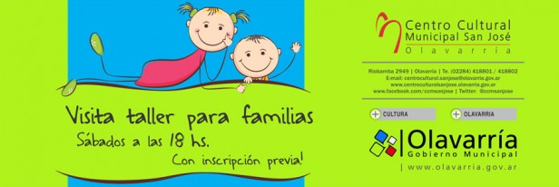 """""""Sábados Familiares"""" en el Centro Cultural"""