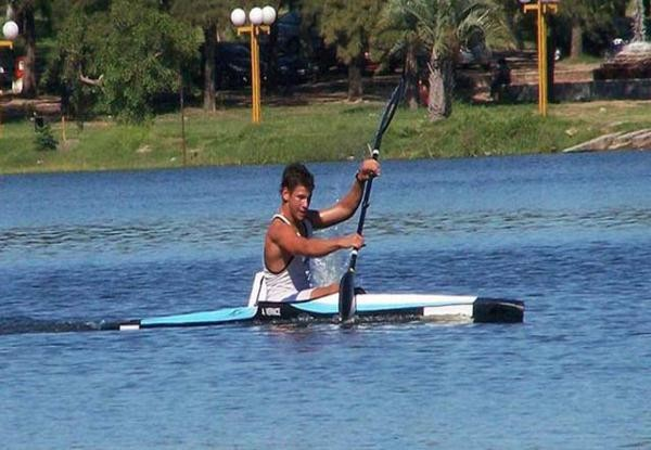 Canotaje: Vernice campeón sudamericano
