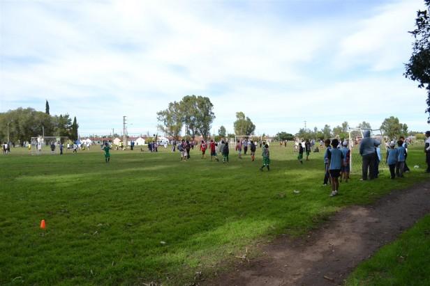 Encuentro de Fútbol Infantil en el Barrio Bancario