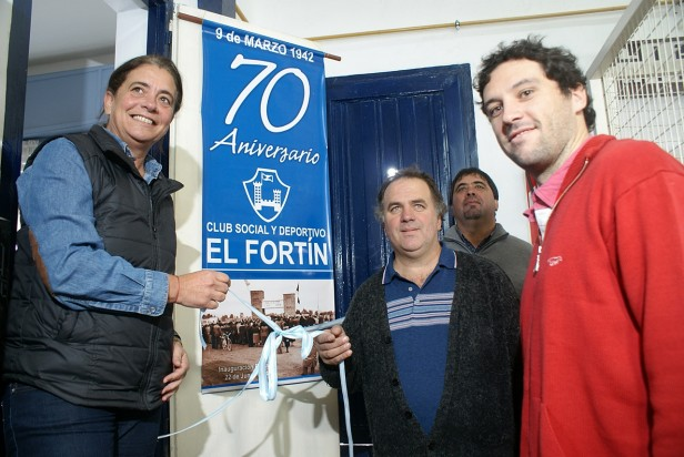 El Fortín inauguró la obra de gas en la sede social