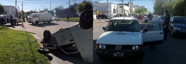 Dos accidentes con heridos leves en la mañana