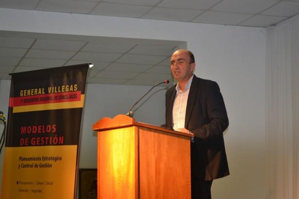 """Eduardo Rodríguez: """"la idea es compartir modelos de gestión"""""""