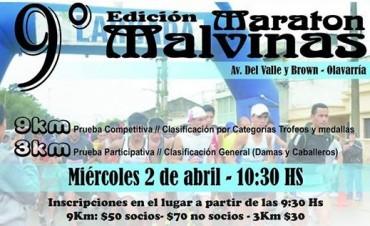 Nueva edición de la Maratón Malvinas