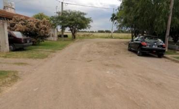Piden pavimentación de calles del barrio Sargento Cabral