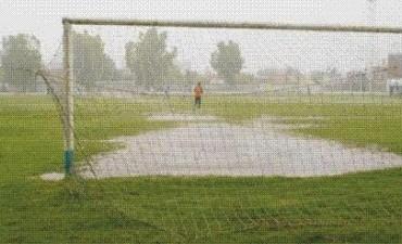 Una vez mas sin fútbol por la lluvia