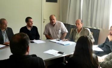 El Presidente del Concejo se reunió con los representantes de las comisiones de trabajo