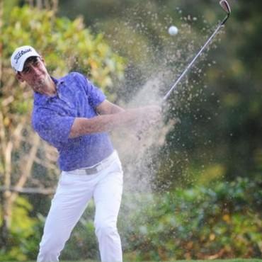 Golf:Alan Wagner octavo