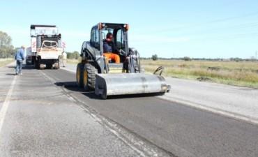 Ruta 51: comenzaron trabajos en el tramo 226-L'Amalí