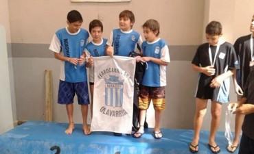 Nadadores de Ferro con buen suceso en un certamen promocional