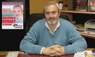 Diputado Bodart, ante el proyecto de ley anti-piquetes
