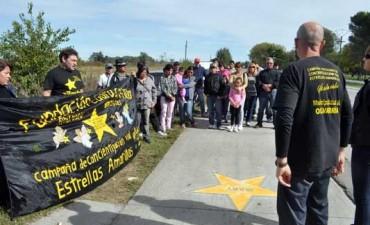 Estrellas Amarillas: Se retomo la actividad de las pintadas