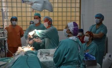 Dos laparoscopías fueron transmitidas en vivo para estudiantes de medicina