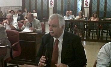 """Ernesto Cladera  """"la plataforma urbanística no deberá superar los 11 metros"""""""
