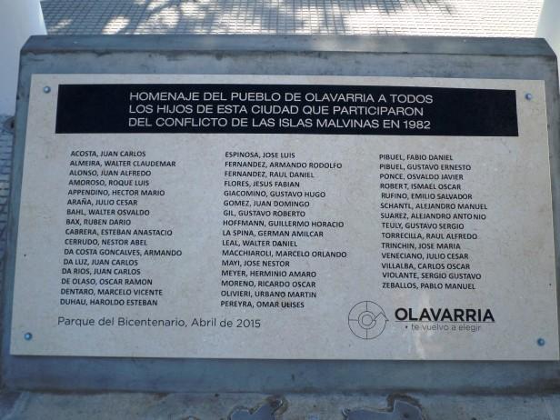 Malvinas: 'Nunca podremos olvidar'