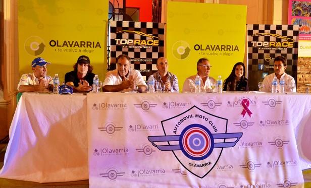 Presentaron la carrera de Top Race en Olavarría