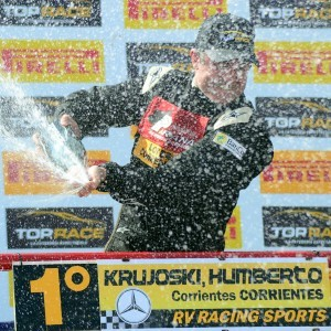 Humberto Krujoski inscribió su nombre en Olavarría