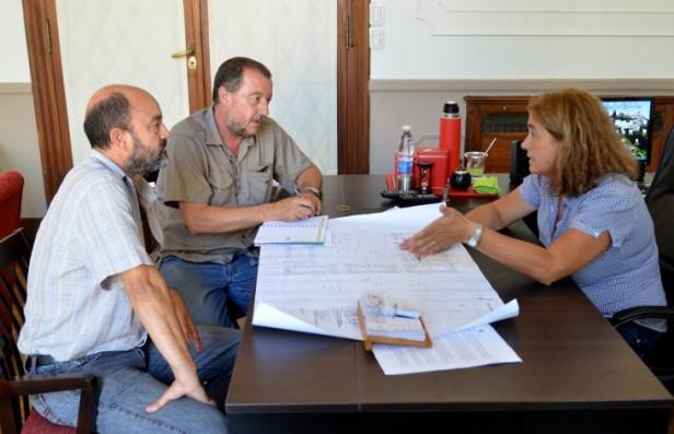 Inscripción para los terrenos de Sierra Chica