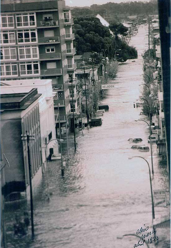 Se cumplen hoy 35 años de la inundación de Olavarría