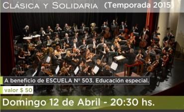 """Llega el primer concierto del año de """"Clásica y Solidaria"""""""