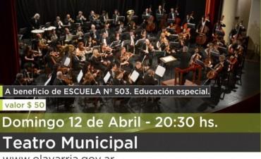 """La Escuela Nº503 será la primera beneficiada con el concierto de """"Clásica y Solidaria"""""""