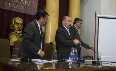 En Azul, comienzo de sesiones ordinarias con incidentes