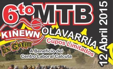 """Mountain Bike  a beneficio del Centro Laboral """"Teresa de Calcuta"""""""