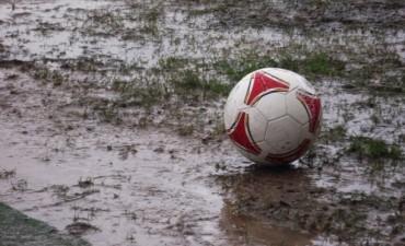 Suspendido el clásico del fútbol local por el mal tiempo