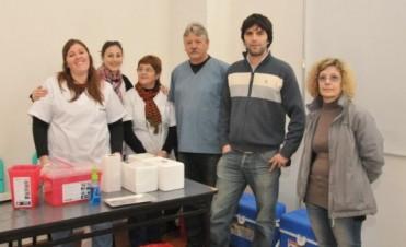 Vacunación Antigripal 2015: Comenzó la distribución a los puestos sanitarios del Partido