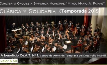 El CEAT Nº 1  beneficiado con el próximo concierto de Clásica y Solidaria