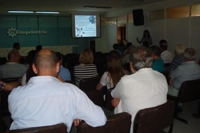 Coopelectric Informa: charla por el Día del Agua