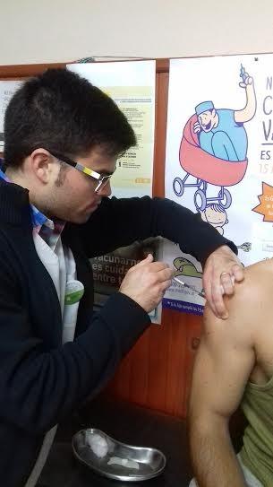 Vacunación Fiebre Amarilla en la Región Sanitaria IX