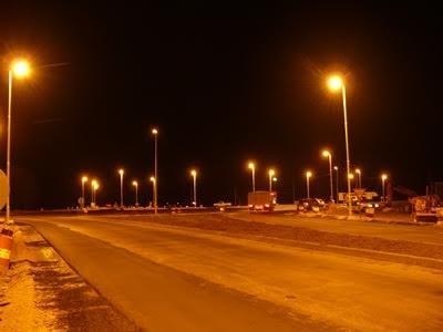 Alvear: Con empleados municipales y personal de EDEA se solucionó el problema de la luz en la rotonda
