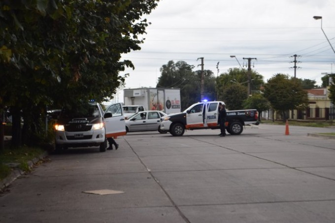 Una mujer fue embestida por una moto