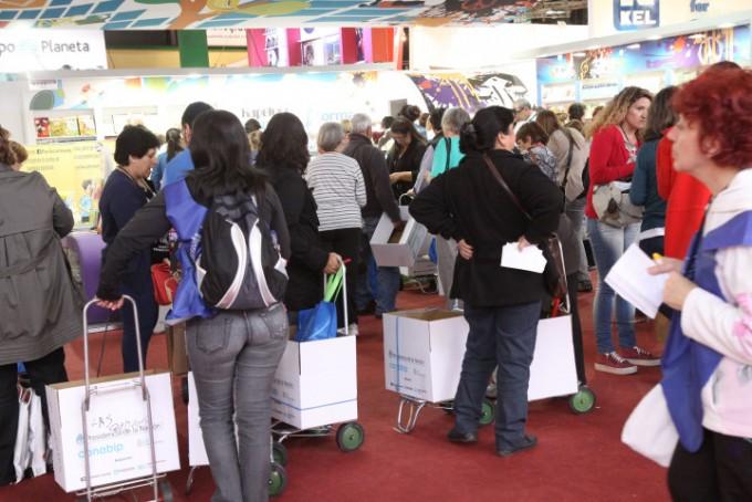Las Bibliotecas Populares se preparan para comprar en la Feria del Libro