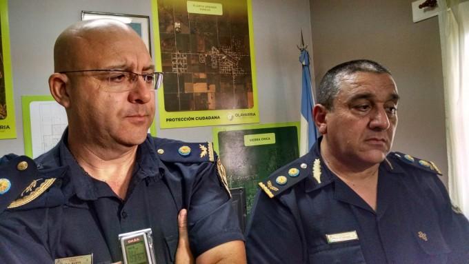 El comisario inspector Mario Alberto Busto quedó a cargo de la policía de Olavarría
