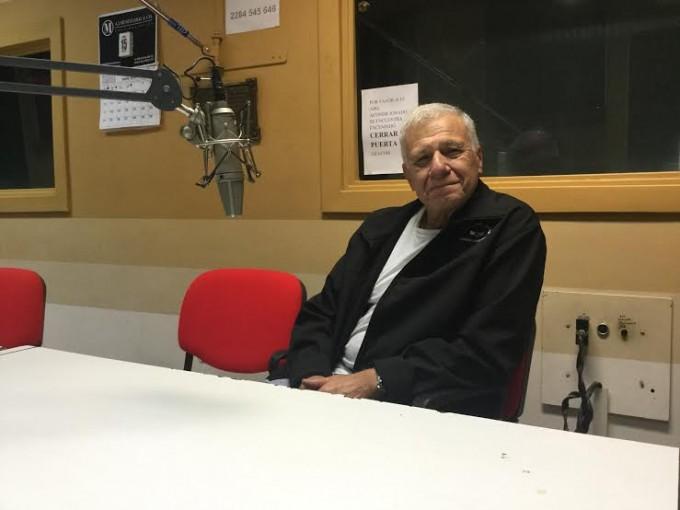 El periodista Carlos Campolongo estuvo en Radio Olavarría