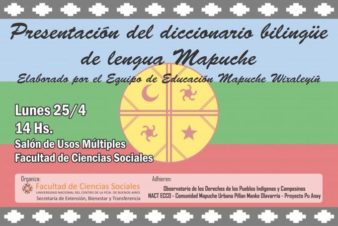 Presentan el diccionario bilingüe de idioma Mapuche