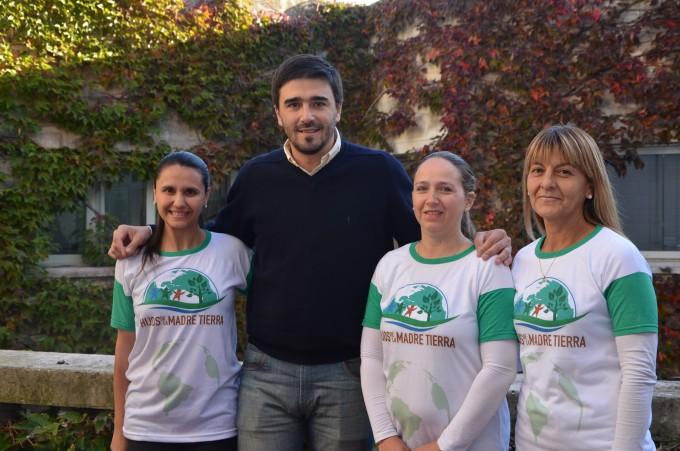 Ezequiel Galli se reunió con integrantes de la Embajada Mundial de Activistas por la Paz
