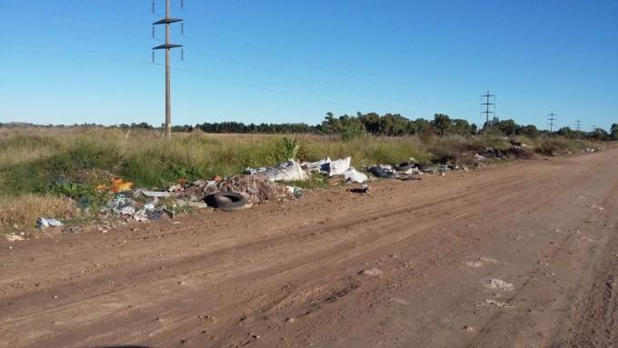 Piden la limpieza de basurales a cielo abierto