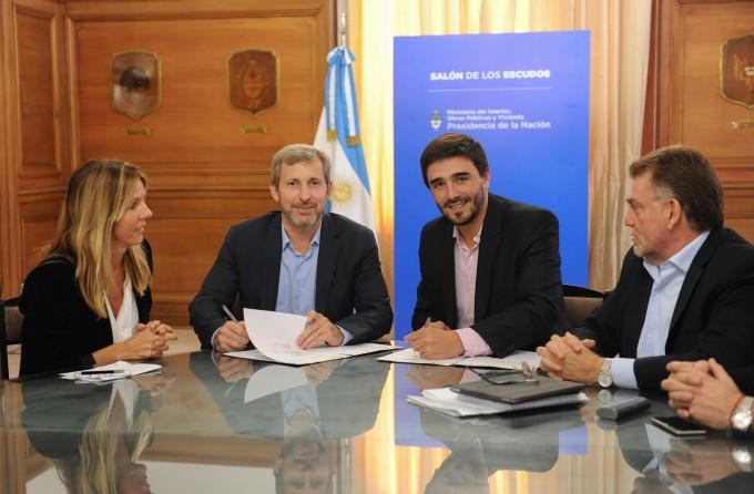 La Nación invertirá 270 millones en obras en municipios, entre ellos Olavarría