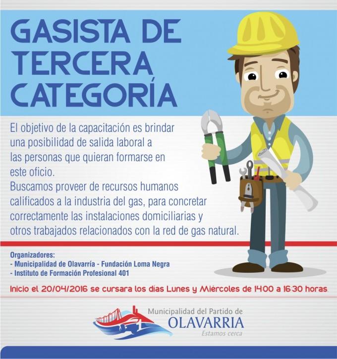 Curso de Gasistas en Sierras Bayas