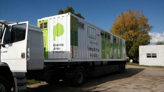 El camión sanitario en Espigas y Recalde