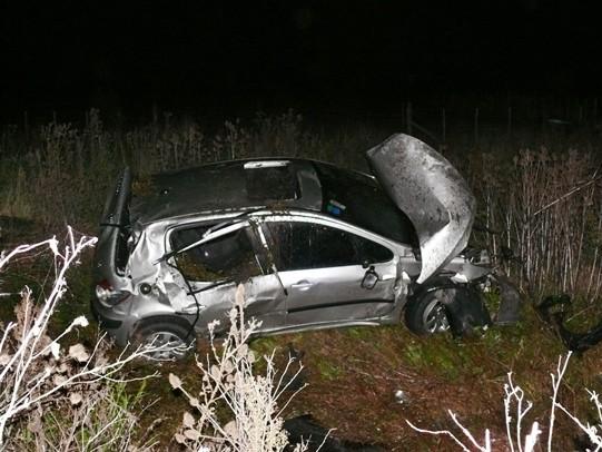 Un joven de Tapalqué falleció en un vuelco cerca de Alvear