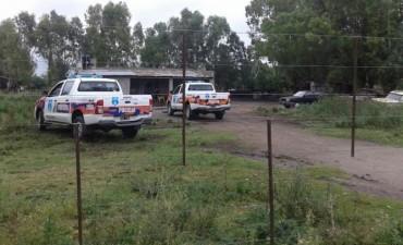 Personal del Comando de Prevención Rural de Olavarría realizo un allanamiento por un hecho de abigeato