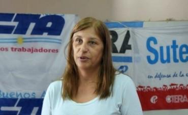 Buen acatamiento al paro docente en Olavarría