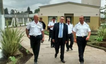 El Jefe del Servicio Penitenciario estuvo en la Unidad N° 38