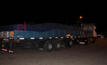 Secuestran camión olavarriense con explosivos